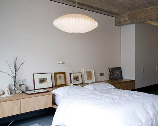 Brinkworth Kent Reservoir concrete ceiling industrial platform bed
