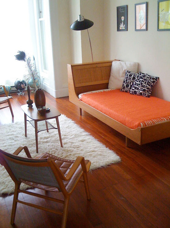 San Francisco Hans Wegner daybed Jennifer Bostic