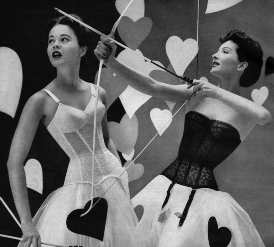 Warners valentines day lingerie 1956