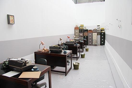 Orla Kiely AW13 60s Style office desks