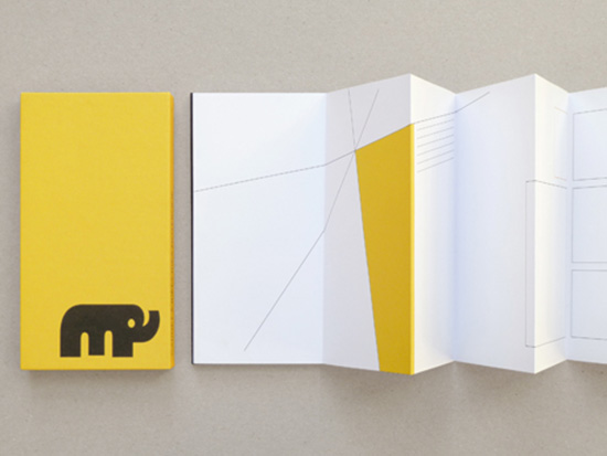 Yellow elephant ideas notebook