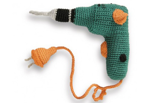 Mini mechanic crochet power drill
