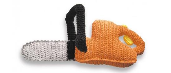 Mini mechanic crochet chainsaw