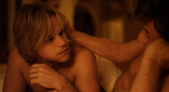 Michael Douglas Matt Damon Liberace Behind the Candelabra HBO