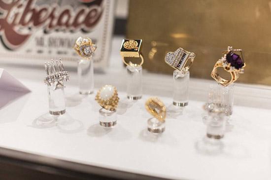 Liberace diamond piano ring