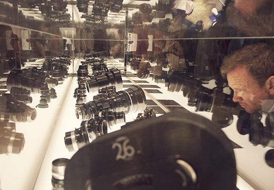 Kubrick camera lens exhibit LACMA
