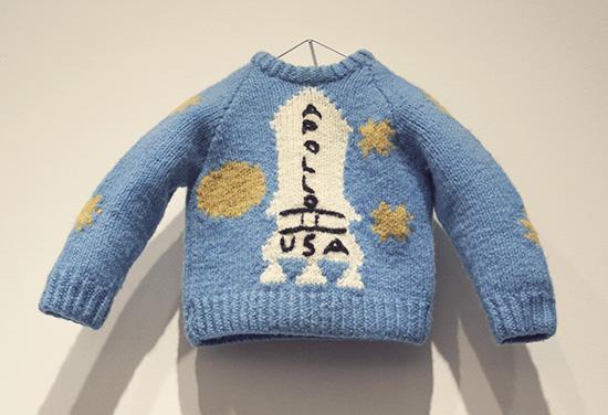 Danny Apollo sweater The Shining Kubrick exhibit LACMA