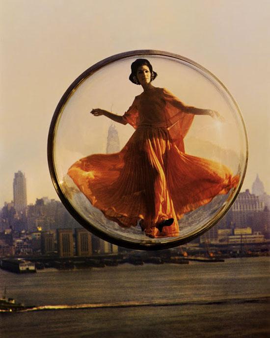 Melvin sokolsky fashion bubble girl vintage photography