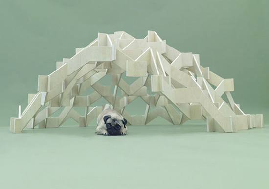 Mount Pug by Kengo Kuma in Architecture for Dogs