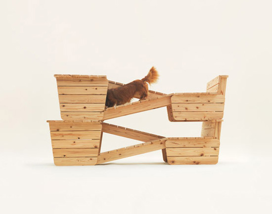 Kenya Hara dog ramps Architecture for Dogs