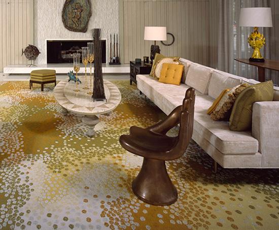 Pedro Friedeberg hand chair mid century house designer Darren Brown