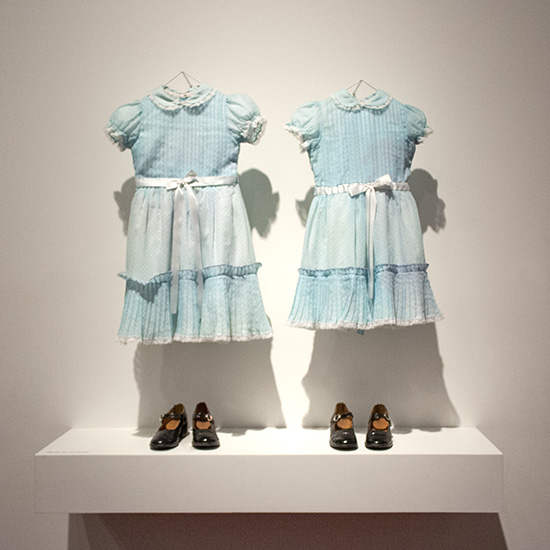Grady girl twins The Shining Kubrick exhibit LACMA