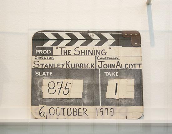 The shining slate kubrick LACMA