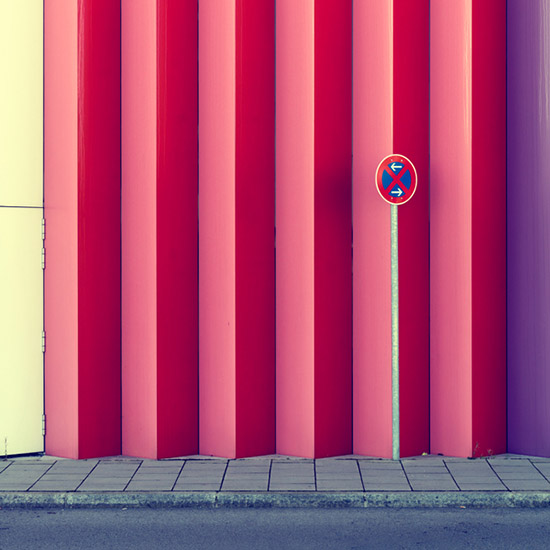 Nick Frank Behance multi color Mira building photography Munich