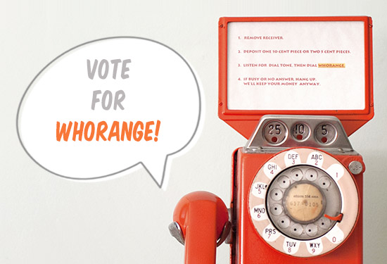 Whorange phone vote