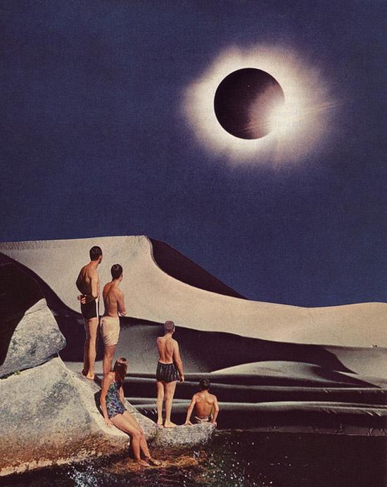 Solar Eclipse by Beth Hoeckel