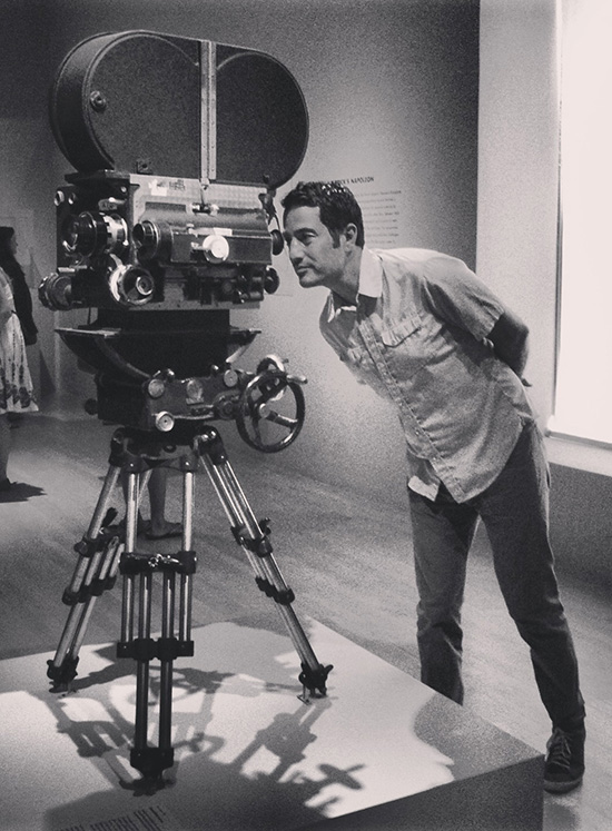 Stanley Kubrick exhibit LACMA camera from Barry Lyndon camera