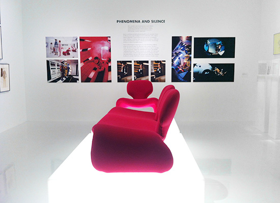 2001 A Space Odyssey pink groovy furniture Kubrick LACMA