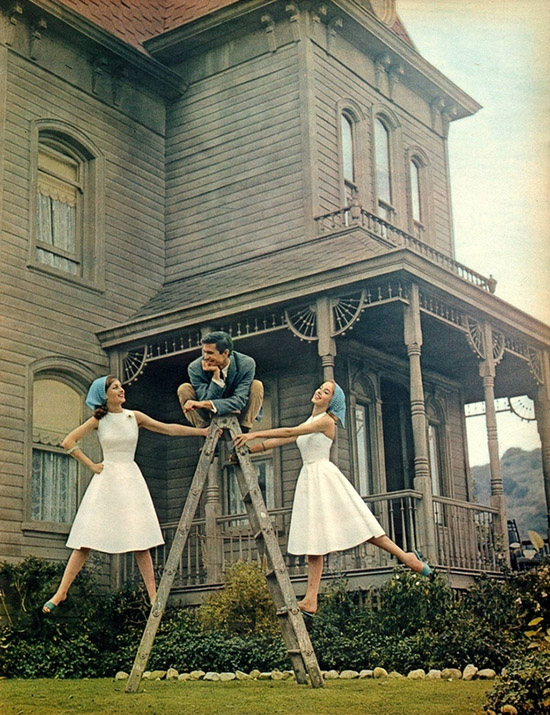 Behind the scenes of Psycho Anthony Perkins