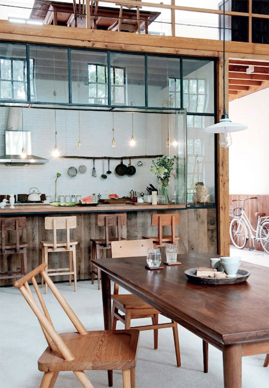Gu qi furniture designer kitchen beijing river