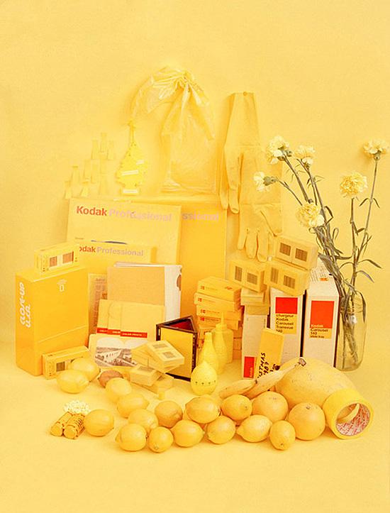 Sara Cwynar color study yellow