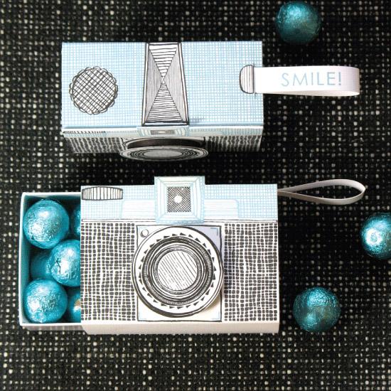 Letterpress Camera Box