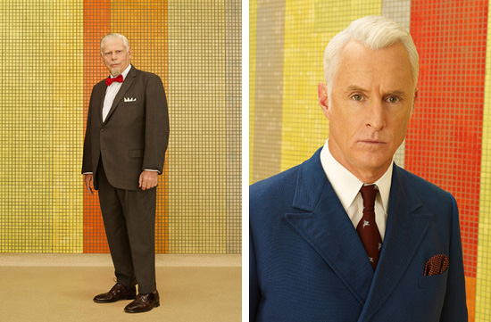 Bert Cooper and Roger Sterling 1969 Mad Men Season 7