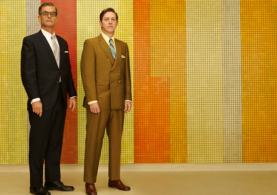 Jim Cutler and Ted Chaough Mad Men season 7 photographer Frank Ockenfels