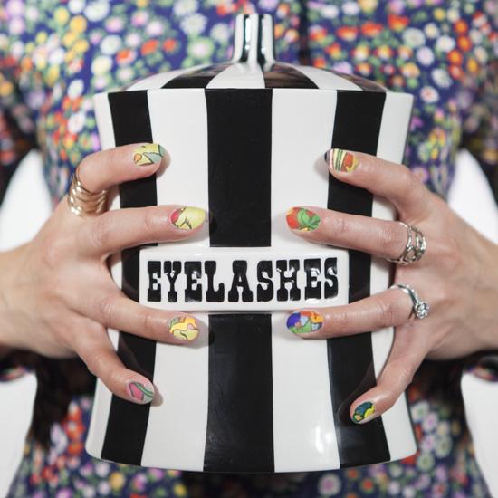 NailSnaps Mad Men Milton Glaser Mad Men poster nail art