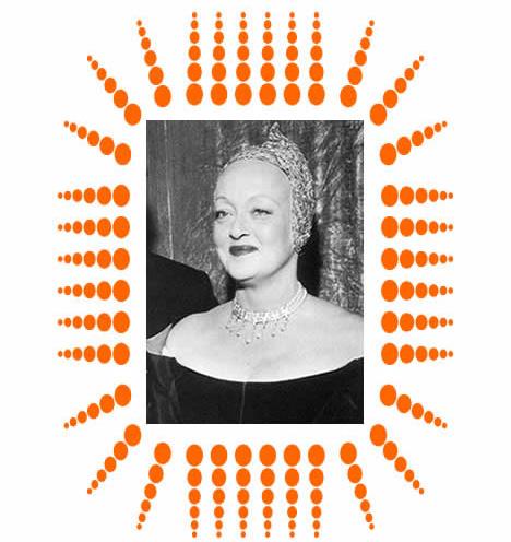 Bette Davis Oscars Cap