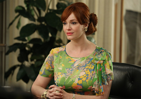 Mad Men Joan Harris green dress