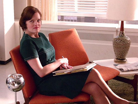 Peggy Olsen office Mad Men
