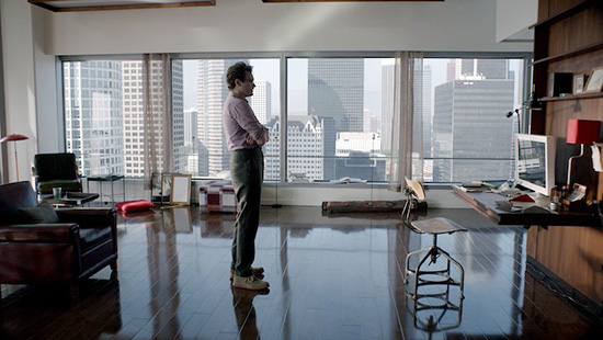Joaquin phoenix apartment set production design Her by spike jonze