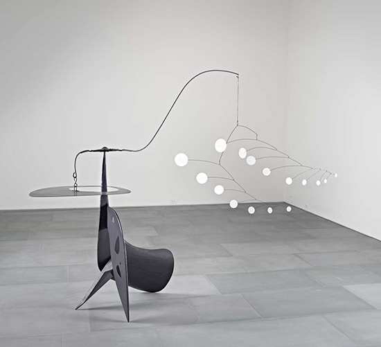 Alexander Calder Laocoon mobile and stabiles at LACMA