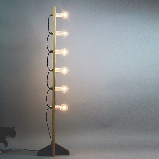 Allied maker multi bulb floor lamp