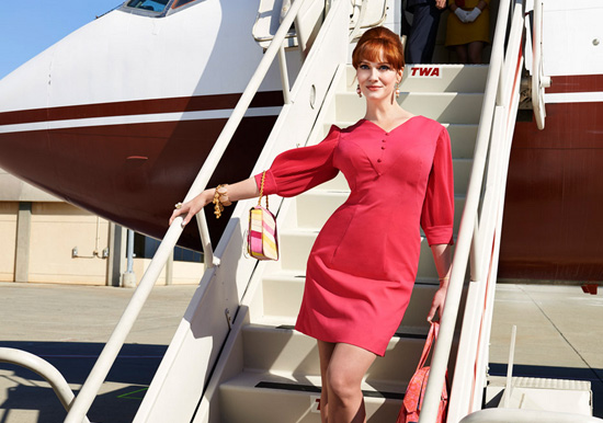 Christina Hendricks as Joan Mad Men Season 7