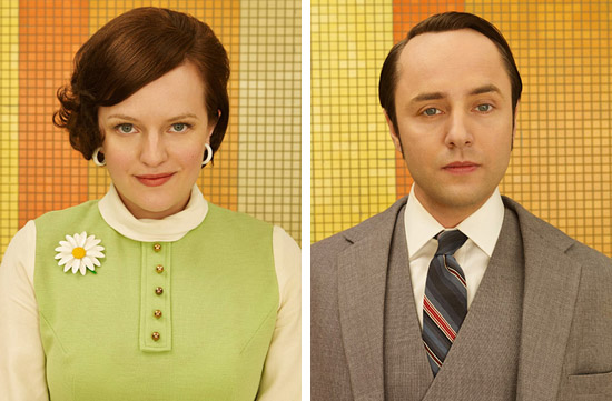 Peggy Olsen and Pete Campbell 1969 Mad Men Season 7