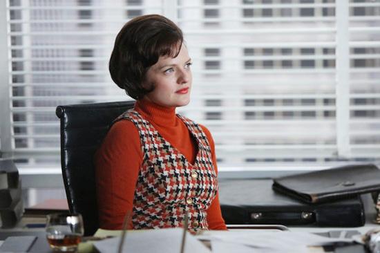 Peggy Olson red plaid