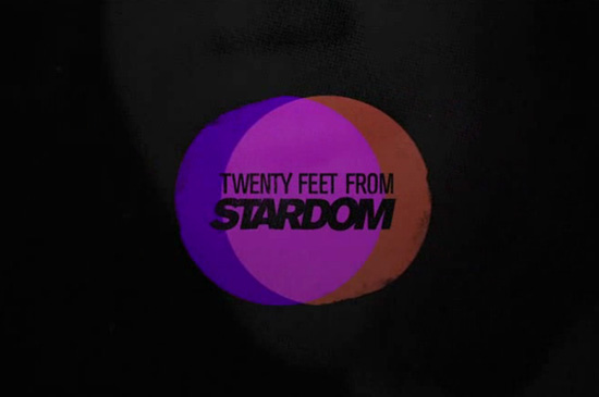 Opening credits 20 Feet From Stardom Documentary 15