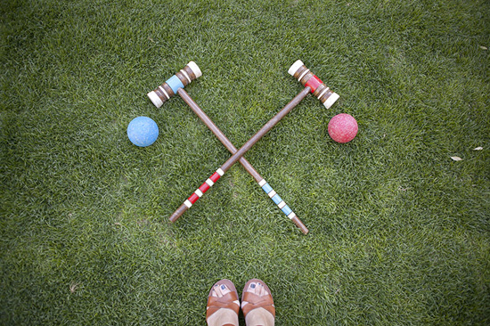 Croquet balls Parker Palm Springs