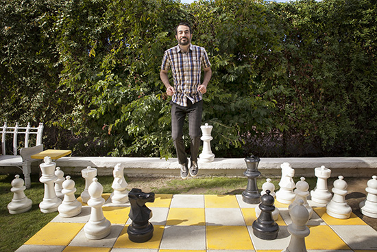 The Parker Hotel Palm Springs Giant Chess Board