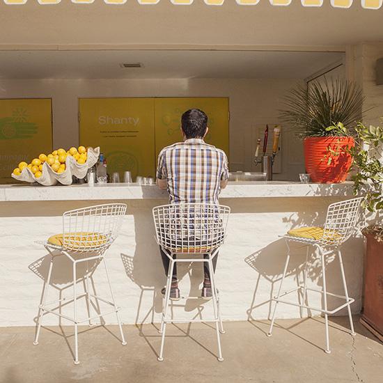 Parker Hotel lemonade stand bar