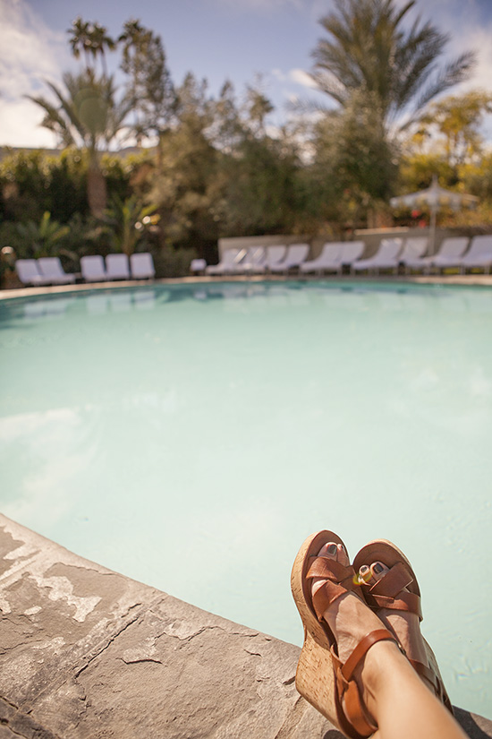 The Parker Hotel swimming pool