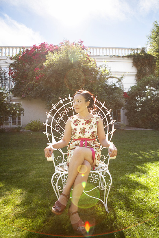 Croquet throne Parker Hotel Palm Springs