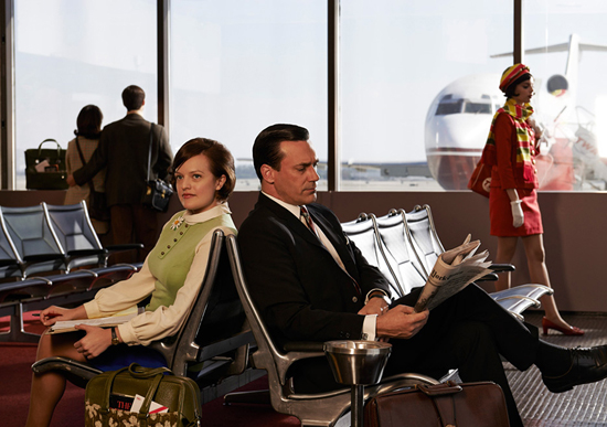 Peggy Olsen and Don Draper 1969 Mad Men Season 7