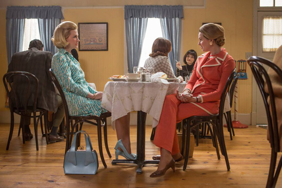 Betty Draper Francis Francine lunch Mad Men