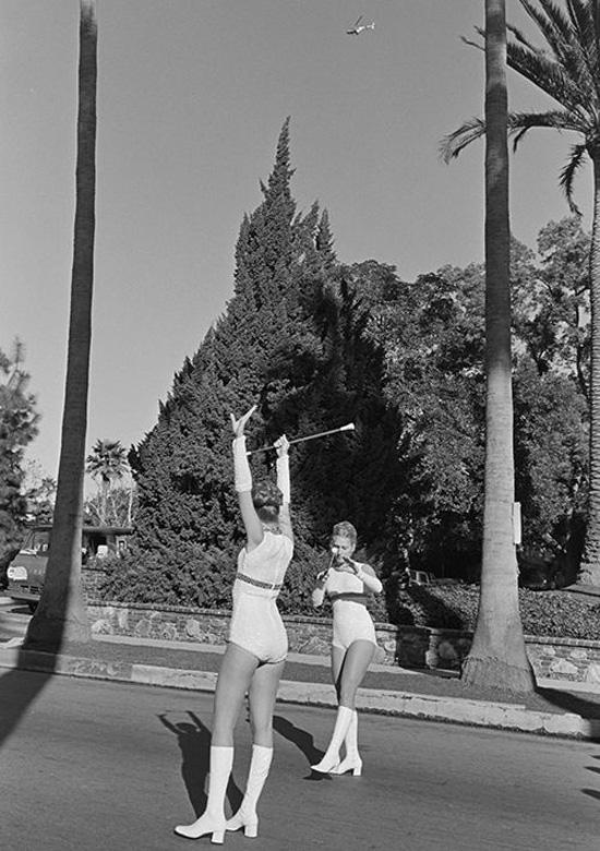 Vintage baton twirlers