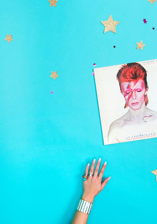 David Bowie Forever Aladdin Sane