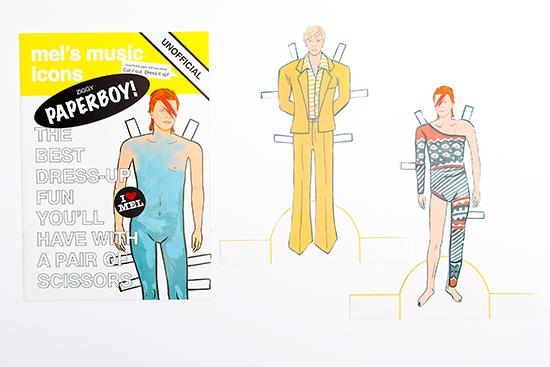 David Bowie Paper Dolls Mel Elliot Ziggy Paperboy Aladdin Sane_13