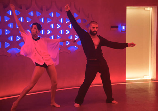 Ex machina oscar isaac dance